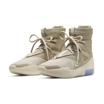 Shoes Hi top trainers Nike Air Fear Of God 1 Oatmeal Multicolor/String-Oatmeal-Pale Ivory