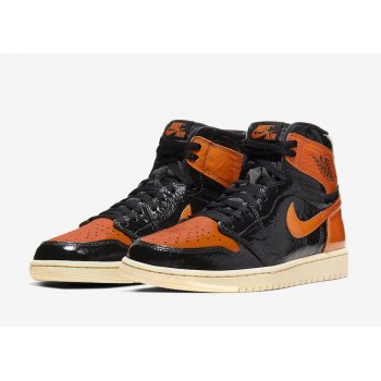Shoes Hi top trainers Nike Air Jordan 1 High Shattered Backboard 3.0 Black/Pale Vanilla-Starfish
