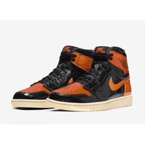 Shoes Hi top trainers Nike Air Jordan 1 High Shattered Backboard 3.0 Black/Pale Vanilla-Starfish