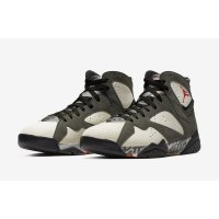 Shoes Hi top trainers Nike Air Jordan 7 x Patta Icicle Icicle/Sequoia-River Rock-Light Crimson