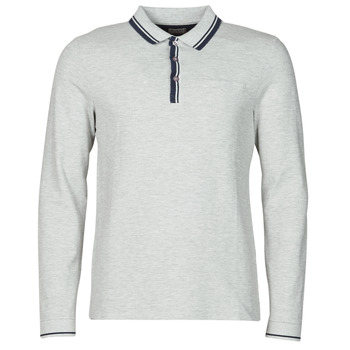 Clothing Men Long-sleeved polo shirts Guess STU LS POLO Grey