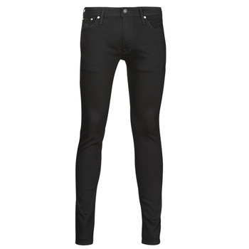 Clothing Men Slim jeans Jack & Jones JJILIAM Black