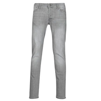 Clothing Men Slim jeans Jack & Jones JJIGLENN Grey