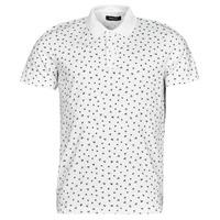 Clothing Men Short-sleeved polo shirts Jack & Jones JJMINIMAL White
