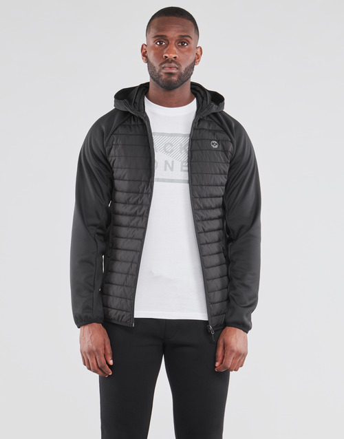 Clothing Men Duffel coats Jack & Jones JJEMULTI Black