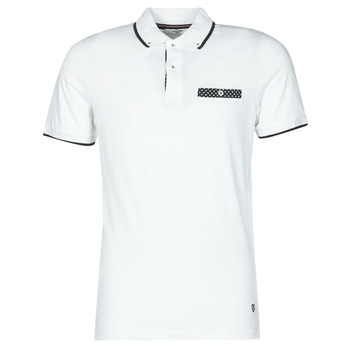 Clothing Men Short-sleeved polo shirts Jack & Jones JPRBLABOLTON White