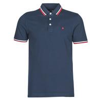 Clothing Men Short-sleeved polo shirts Jack & Jones JJEPAULOS Marine