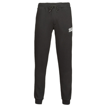 Clothing Men Tracksuit bottoms Jack & Jones JJIGORDON Black