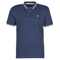 Clothing Men Short-sleeved polo shirts Jack & Jones JJEJERSEY Marine