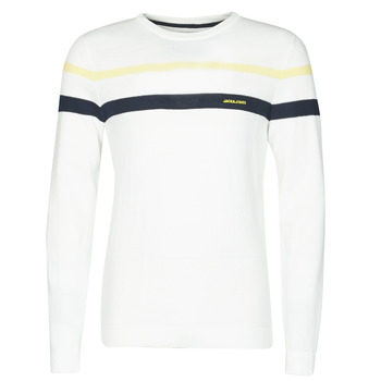 Clothing Men Jumpers Jack & Jones JJSMITH White