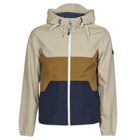 Clothing Men Jackets Jack & Jones JORLUKE Beige / Camel / Marine