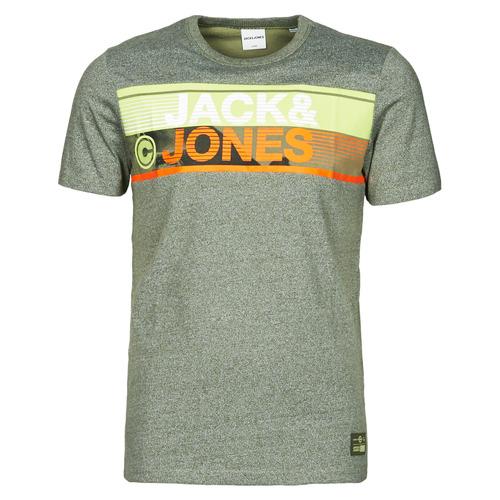 Clothing Men Short-sleeved t-shirts Jack & Jones JCONICCO Kaki