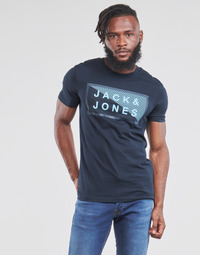 Clothing Men Short-sleeved t-shirts Jack & Jones JCOSHAWN Marine