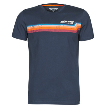 Clothing Men Short-sleeved t-shirts Jack & Jones JORTYLER Marine