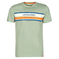 Clothing Men Short-sleeved t-shirts Jack & Jones JORTYLER Kaki