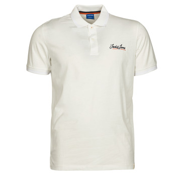 Clothing Men Short-sleeved polo shirts Jack & Jones JORTONS White