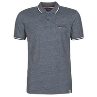 Clothing Men Short-sleeved polo shirts Jack & Jones JORTONS Marine