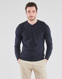 Clothing Men Jumpers Jack & Jones JJEBASIC Marine