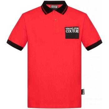 Clothing Men Short-sleeved polo shirts Versace Jeans Couture B3GVA7P536571_537red red