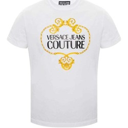 Clothing Men Short-sleeved t-shirts Versace Jeans Couture B3GVA7EB30311_l06white white