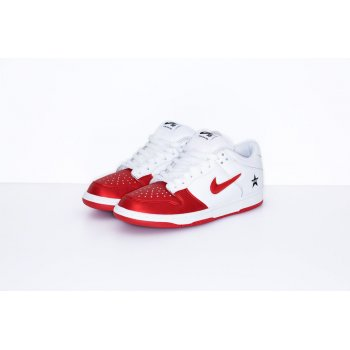 Shoes Low top trainers Nike SB Dunk Low x Supreme Red-White Varsity Red/Varsity Red-White-Black
