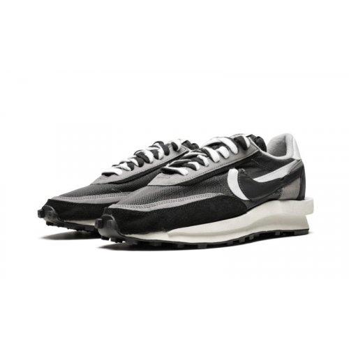 Shoes Low top trainers Nike LDV Waffle Racer x Sacai Black Anthracite Black/Anthracite/White/Gunsmoke