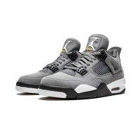 Shoes Hi top trainers Nike Air Jordan 4 Cool Grey Cool Grey/Chrome-Dark Charcoal