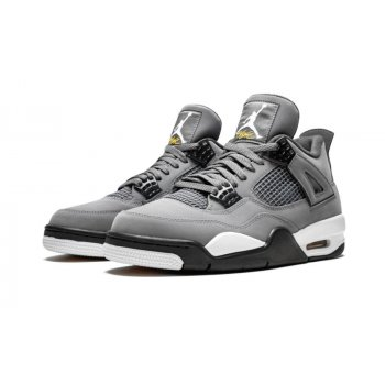 Shoes Hi top trainers Nike Air Jordan 4 Cool Grey Cool Grey/Chrome-Dark Charcoal