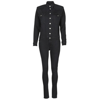 Clothing Women Jumpsuits / Dungarees Betty London OPANTS Black