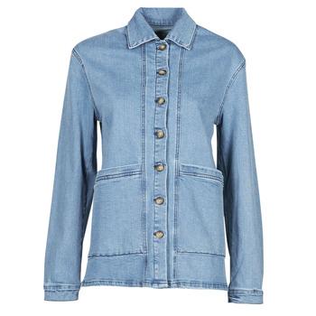 Clothing Women Denim jackets Betty London OVEST Blue / Medium