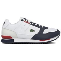 Shoes Men Low top trainers Lacoste Partner Piste White