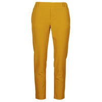 Clothing Women Chinos Only ONLGLOWING Yellow