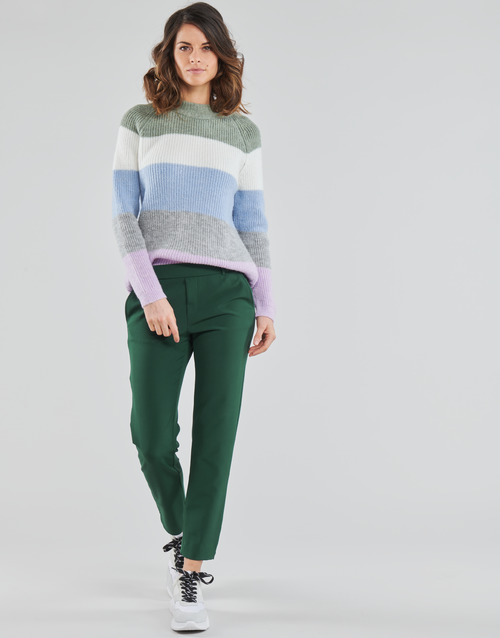 Clothing Women Chinos Only ONLGLOWING Green