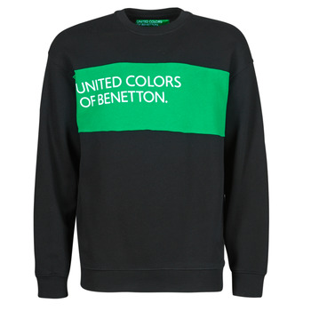 Clothing Men Sweaters Benetton COLINA Black