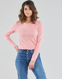 Clothing Women Long sleeved tee-shirts Benetton TUUGA Pink