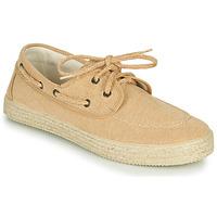 Shoes Men Low top trainers Dream in Green ONATU Beige
