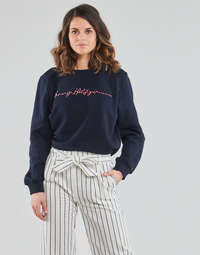 Clothing Women Sweaters Tommy Hilfiger ANNIE RELAXED C-NK SWEATSHIRT LS Blue