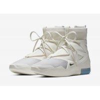 Shoes Hi top trainers Nike Air Fear Of God 1 Sail Sail/Black