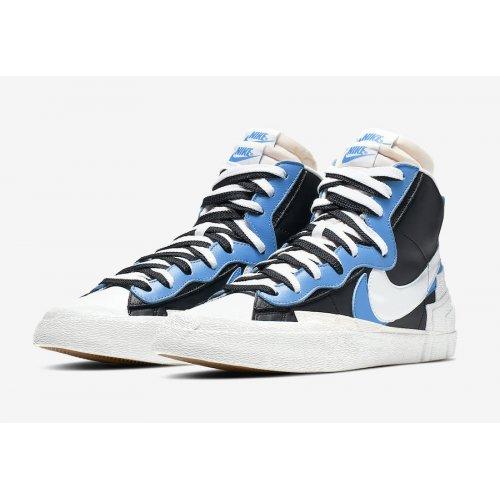 Shoes Low top trainers Nike Blazer Mid x Sacai