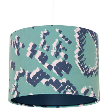 Home Lampshades and lamp bases Rebecca J Mills Designs Scaled 1 lampshade diameter 25x21 Green