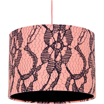 Home Lampshades and lamp bases Rebecca J Mills Designs Delicate 1 lampshade diameter 25x21 Pink