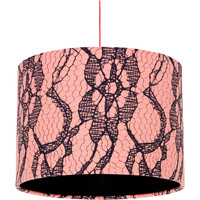 Home Lampshades and lamp bases Rebecca J Mills Designs Simply fringed lampshade diameter 30x21 White
