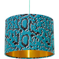 Home Lampshades and lamp bases Rebecca J Mills Designs Scaled 1 woven lampshade diameter 35x23 Green