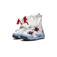 Shoes Low top trainers Nike Mars Yard Overshoe x Tom Sachs White/Sport Red-Black-Cobalt Bliss