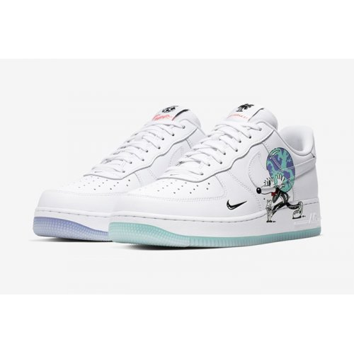 Shoes Low top trainers Nike Air Force 1 Earth Day White