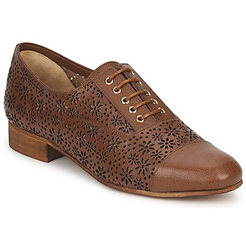 Shoes Women Derby Shoes Moschino Cheap & CHIC PEONIA Brown