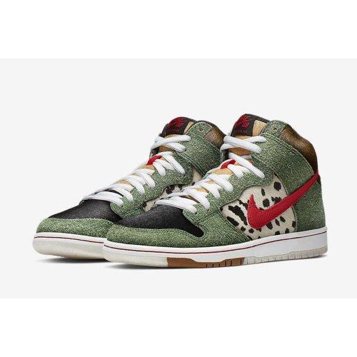 Shoes Hi top trainers Nike SB Dunk High Dog Walker  Multicolor/Multicolor