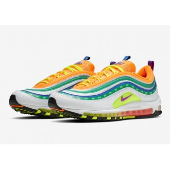 Shoes Low top trainers Nike Air Max 97 London Summer Of love Multicolor/Multicolor