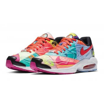 Shoes Low top trainers Nike Air Max 2 Atmos Black/Bright Crimson