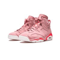 Shoes Low top trainers Nike Air Jordan 6 x Aleali May Rust Pink Rust Pink/Bright Crimson